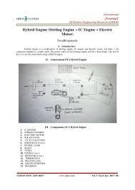 hybrid engine stirling engine ic engine electric motor