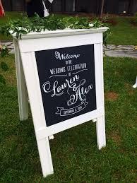 wedding chalkboard welcome wedding chalkboard sign designs llc