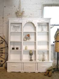 White Cottage Bookcase by New Products The Painted Cottage Vintage Painted Furniture