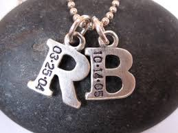 children s initial necklace for pin by caw designs on crafts sted jewelry ideas