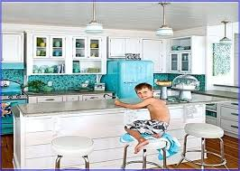 Blue Glass Kitchen Backsplash Sea Glass Kitchen Backsplash Ideas Sea Glass Blue Design Kit And