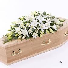 casket spray casket spray white blakes of bookham great bookham surrey