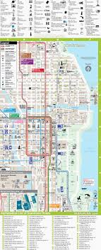 chicago tourist map chicago map directions to downtown hotels rta rail link