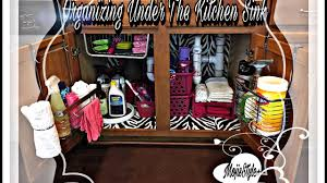 Under Kitchen Sink Cabinet Liner by Organization Diy Home Decor Challenge Under Kitchen Sink