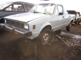 volkswagen rabbit truck custom where have all the front wheel drive pickups gone crunch crunch
