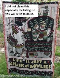 Mary Engelbreit Chair Of Bowlies Mary Engelbreit Blanket Throw Afghan Life Chair Bowlies 158977805