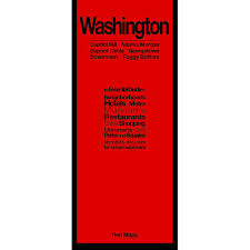 Washington Dc Attractions Map Washington Dc City Guide By Red Maps