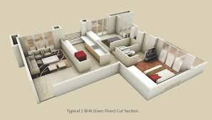 2 bhk flat design plans 2bhk flats in nashik 3bhk flats in nasik 2 bhk flat nashik