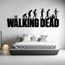 walking dead wall stickers iconwallstickers co uk