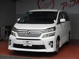toyota lexus japanese used cars toyota vellfire 2 4z golden eyes japanese used vehicles