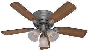 low profile ceiling fan light kit immediately hunter low profile ceiling fan with light misterfute com