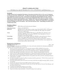 awesome collection of windows administration sample resume resume