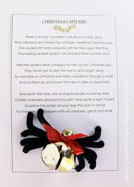 the spider diy free poem printable