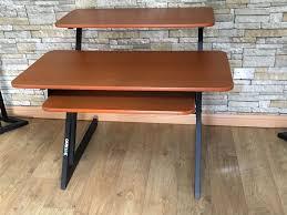 quiklok studio desk used quiklok z tier studio desk posot class