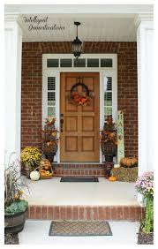 fall front porch decor intelligent domestications
