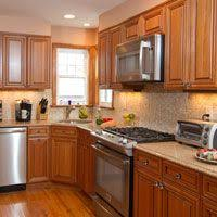 Traditional Medium WoodGolden Kitchen Cabinets  Kitchen - Medium brown kitchen cabinets