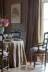 southern dining rooms fortuny fabrics influencing southern style room country french