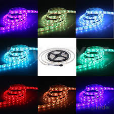 tape lights with remote 5050 rgb led strip flexible color changing