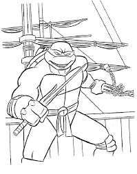 ninja turtle coloring pages 392413