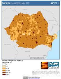 Romania Map Map Gallery Sedac