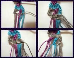 cara akhir membuat tas dari tali kur about macrame cara membuat gelang macrame motif zig zag dari awal