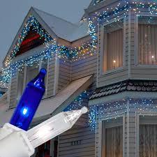 white icicle christmas lights marvellous ideas blue led icicle christmas lights clearance and