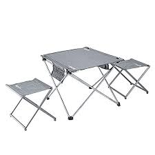 lightweight folding table and chairs lightweight folding table and stools in a carrying bagpretty handy