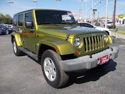 2007 jeep unlimited 2007 jeep wrangler unlimited 4x4 sahara 4dr suv in san antonio tx