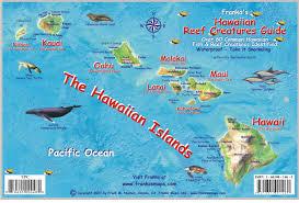 map of hawaii island hawaiian islands reef franko s fabulous maps of favorite places