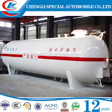 50 cbm asme 20 ton lpg gas cylinder pressure vessel tanks for sale