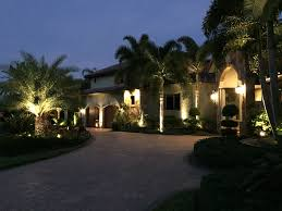 Residential Landscape Lighting Outdoor Landscape Lighting Contractor Naples Bonita Springs Fl