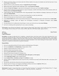 Testing Resume Sample by Resume Uat Testing Resume
