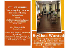 picture booth rental booth rentals stylists wanted the fringe salon spa greensboro