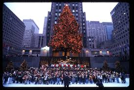see the evolution of the rockefeller center christmas tree