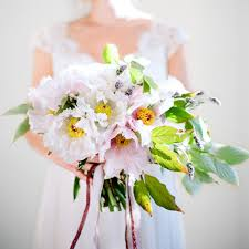 How To Make Wedding Bouquet How To Make A Peony Bouquet Once Wed