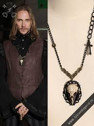 fashion skull necklace images The crow skull necklace rq bl spm012 pendants necklaces jpg