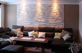 steinmauer wohnzimmer wandpaneel flache steinwand adik wanddesign