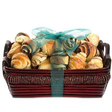 pastry gift baskets medium rugelach gift basket bakery fresh rugelach babka