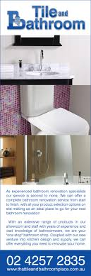 Tile And Bathroom Place Bathroom Renovations  Designs - The bathroom place