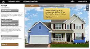 house paint colors exterior simulator virtual exterior house paint colors home design ideas