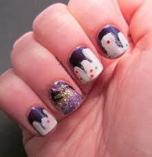 nail designs purple gold on top of purple nail beds is simply