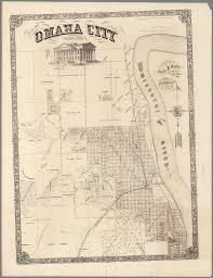 Omaha Nebraska Map Map Of Omaha City Nebraska David Rumsey Historical Map Collection
