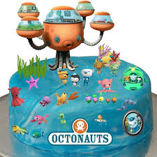 octonauts cake topper stand up octonauts cake premium edible wafer paper cake