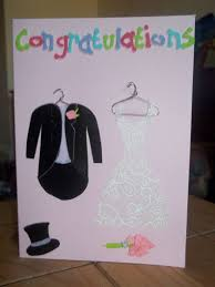 diy congratulations wedding card weddingbee photo gallery