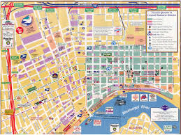 Map New Orleans by Maps Update 7001037 Map Of New Orleans Tourist Attractions U2013 15