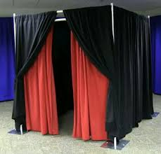 pipe and drape kits 6 x 6 photo booth package unique expo pipe and drape