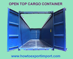 Interior Dimensions Of A Shipping Container Dimension Of 20 U0027 Open Top Container