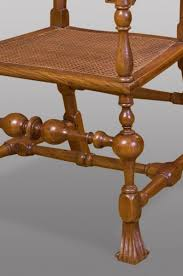 Armchair In Spanish Antique Spanish Carved Walnut Armchair 17th Century For Sale At