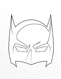 halloween templates free batman mask printable template printable template 2017