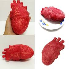 horror blood props lifesize heart haunted house party scary